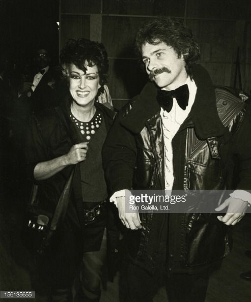 Grace and then husband, Skip Johnson, attend an awards ceremony in 1984