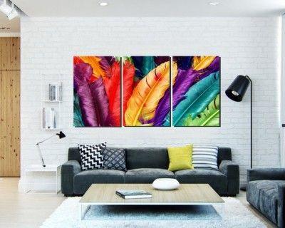 Imagenes de cuadros modernos para salas peque as living - Cuadros modernos para living ...