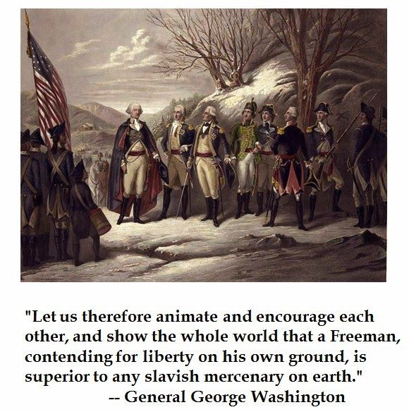 Quotes From George Washington During The Revolutionary War