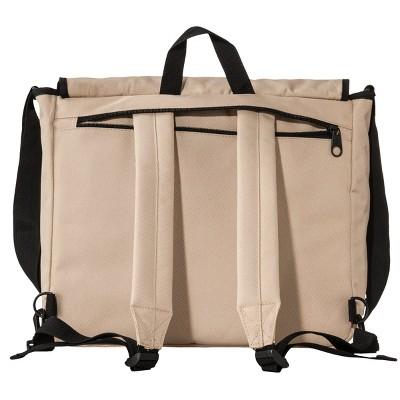 Dickies Men's Convertible Backpack/Messenger Bag - Khaki, Brown Khaki