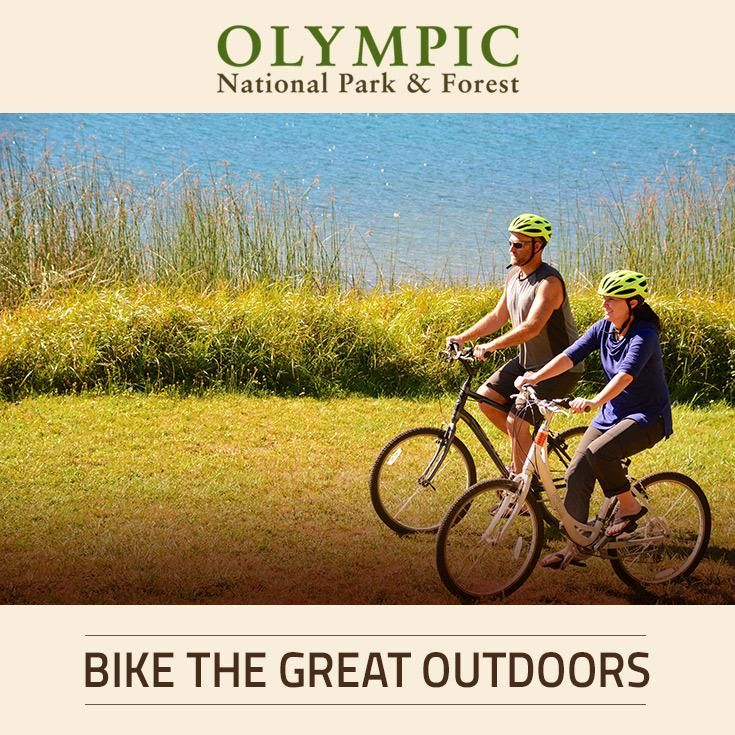 Learn more about biking in the Olympic National Park & Forest, located in the Olympic Peninsula WA.