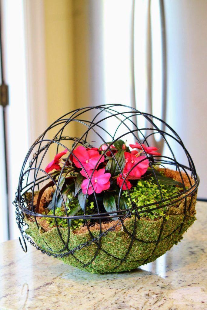 An Easy Diy Hanging Garden Sphere Garden Spheres Diy 400 x 300