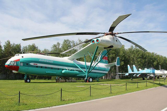 MIL V-12 the largest helicopter ever built