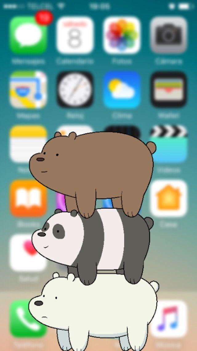 we bare bears wallpaper iphone #945526 | Ayılar, Komik ...