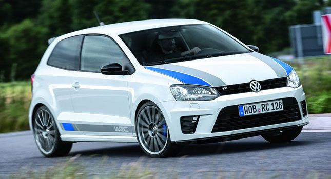 VW Drops New Photos of 217HP Polo R WRC Limited Production Version