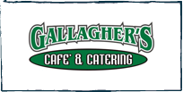 Gallagher's Cafe & Catering on University is SO good!