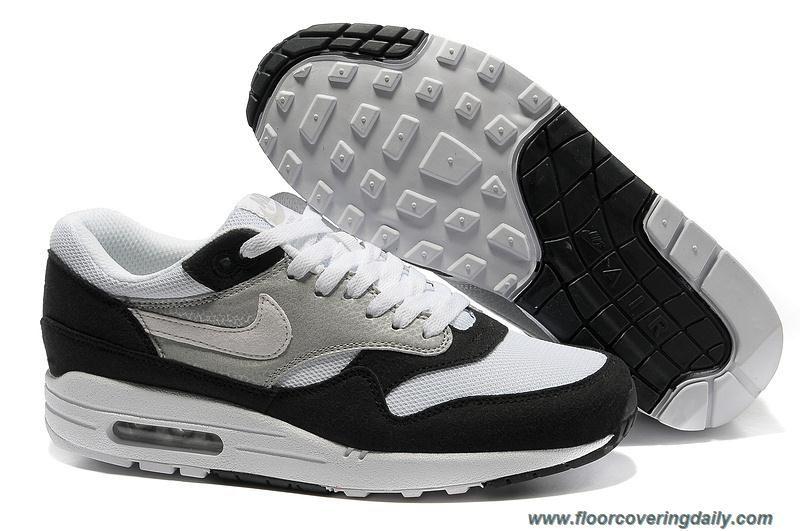 Black · Mens Black White Medium Grey Khaki Nike Air Max 1 ...