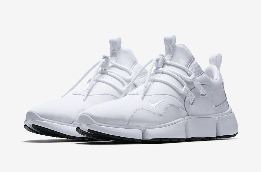 2942c5e901d0 Nike Pocket Knife DM Triple White Black - Sneaker Bar Detroit ...