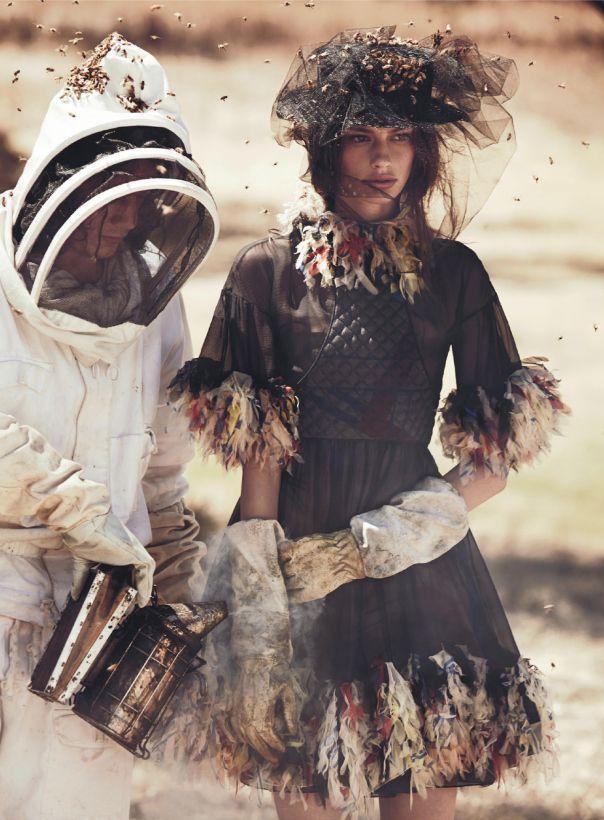 Cassi van den Dungen by Will Davidson for Vogue Australia April 2013 2
