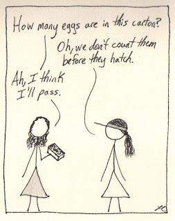 Don T Count Your Eggs Before They Hatch True Stories Counting