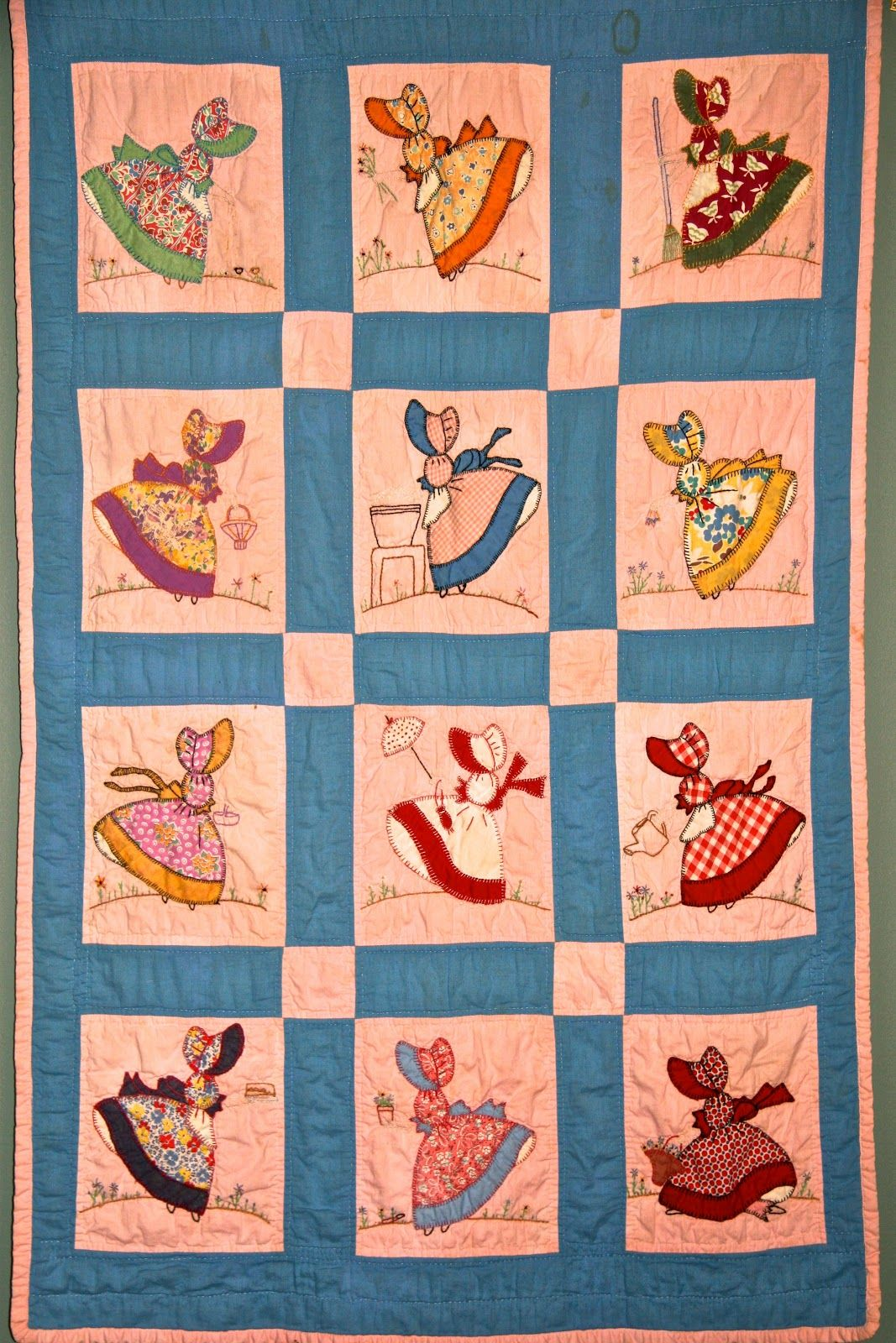 sunbonnet sue|quilt patterns|vintage quilt | Quilting ideas ... : vintage quilt blocks - Adamdwight.com