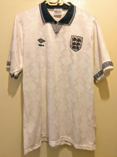Original England Umbro Home Football Shirt Italia 90 1990 Size L 42 Not Palac View More On The Link Http Www Shirts Football Shirts Football Casuals
