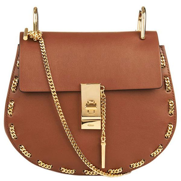 220a7583 Chloe Mini Chain Drew Bag ($2,150) found on Polyvore featuring bags ...