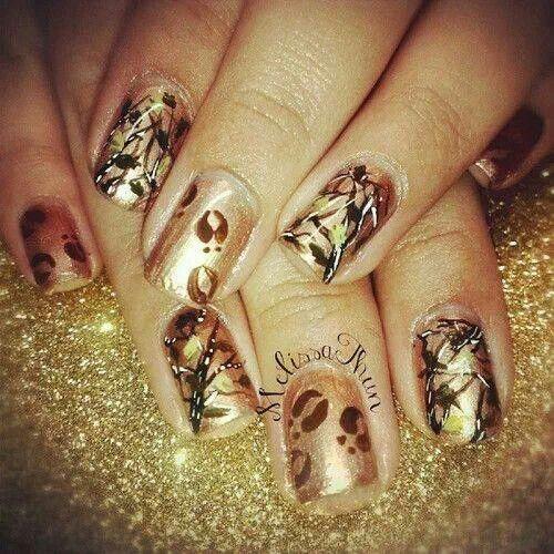 Realtree Nails Country Girl Nails Camouflage Nails Camo Nails