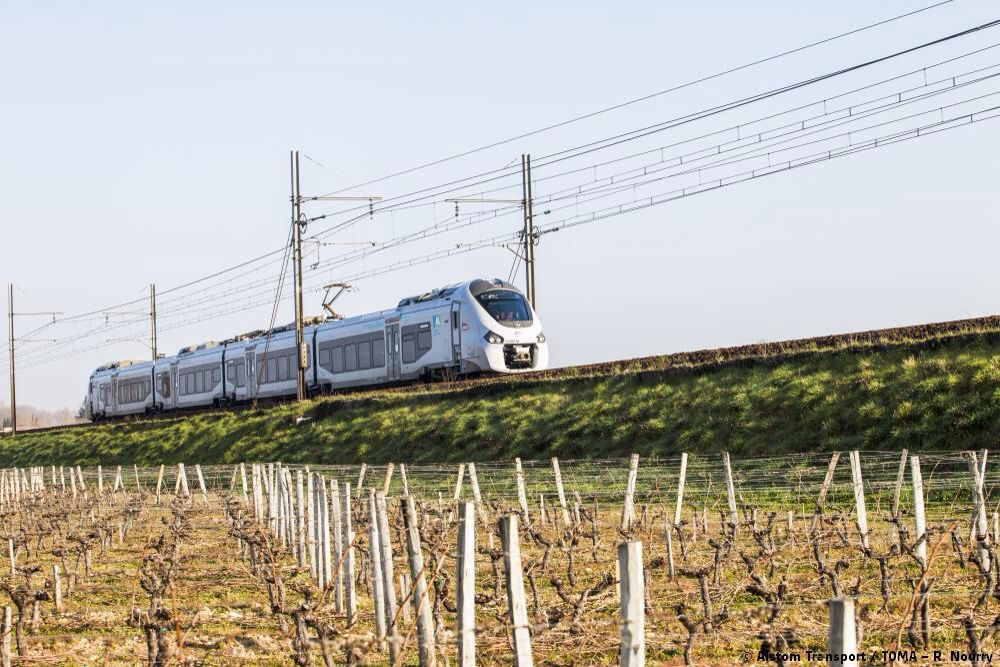 Alstom Trains in France Train