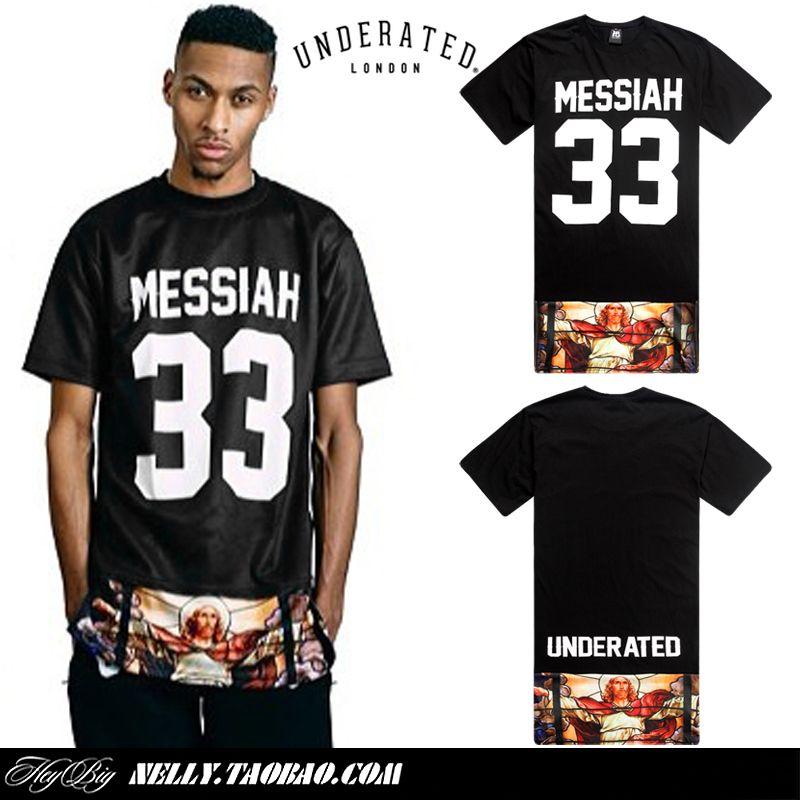 hip hop brand long T t shirt streetwear men urban clothing ...