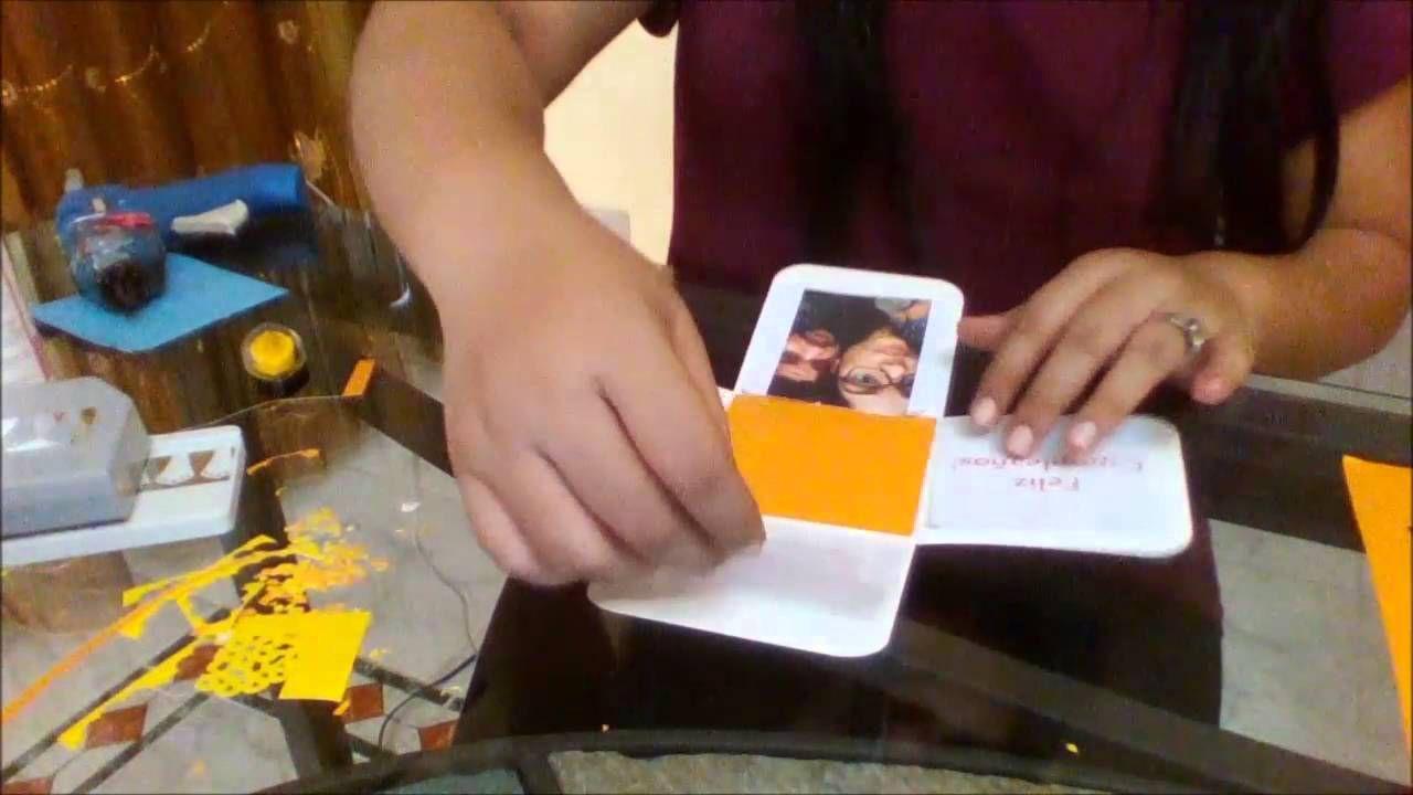 Birthday Cake Explosion box - Caja De Bizcocho Explosiva
