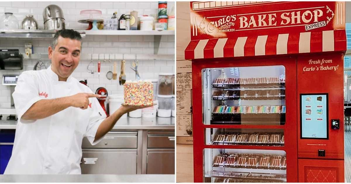 """The Famous """"Cake Boss"""" Bakery Just Launched 3 Vending"""