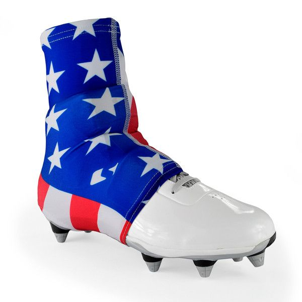 Usa American Flag Spats Cleat Covers In 2020 Cleats Football Cleats Sport Shoes