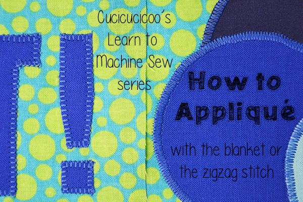 Applique Stitch Sewing Machine