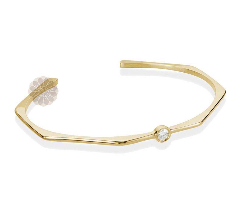 Little stone Cuff gold cuff supplier gold cuffs exporter cuff