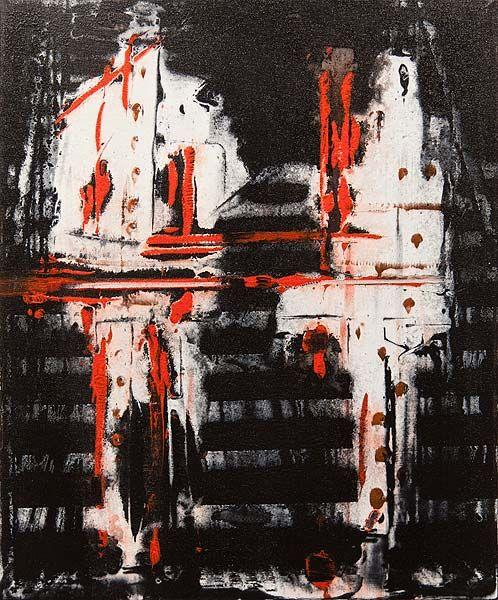 Robert Boynes Agro 2015 acrylic on canvas 60 x 50cm