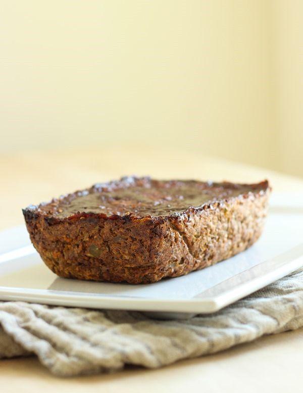 Awesome idea for a nice Sunday dinner!  Lentil Mushroom Loaf #vegetarian #vegan #meatless #dinner