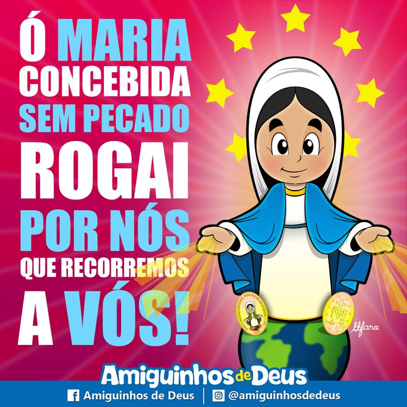 Nossa Senhora Das Graças Desenho Nossa Senhora Prayers Catholic