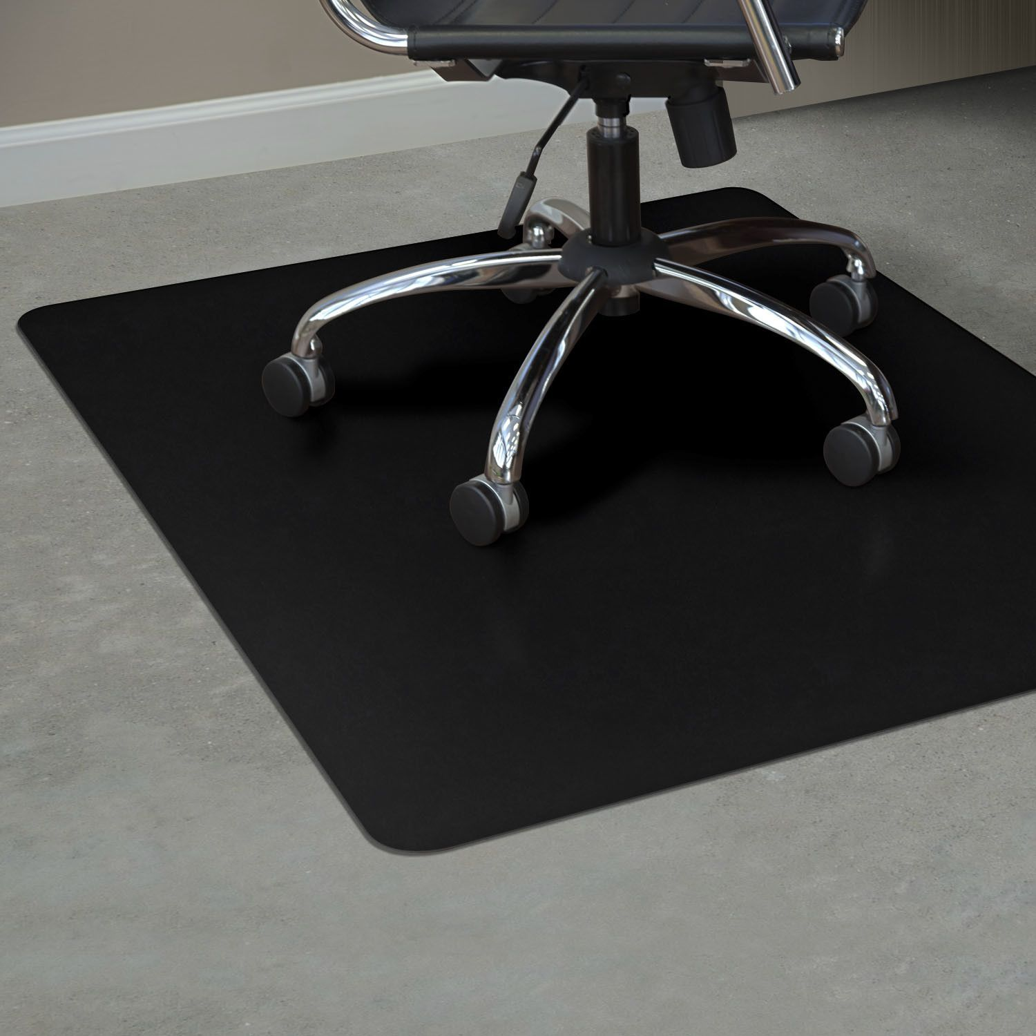 Trendsetter Hard Floor Straight Rectangular Chair Mat Vinyl Chairs Chair Mats Durable Chairs