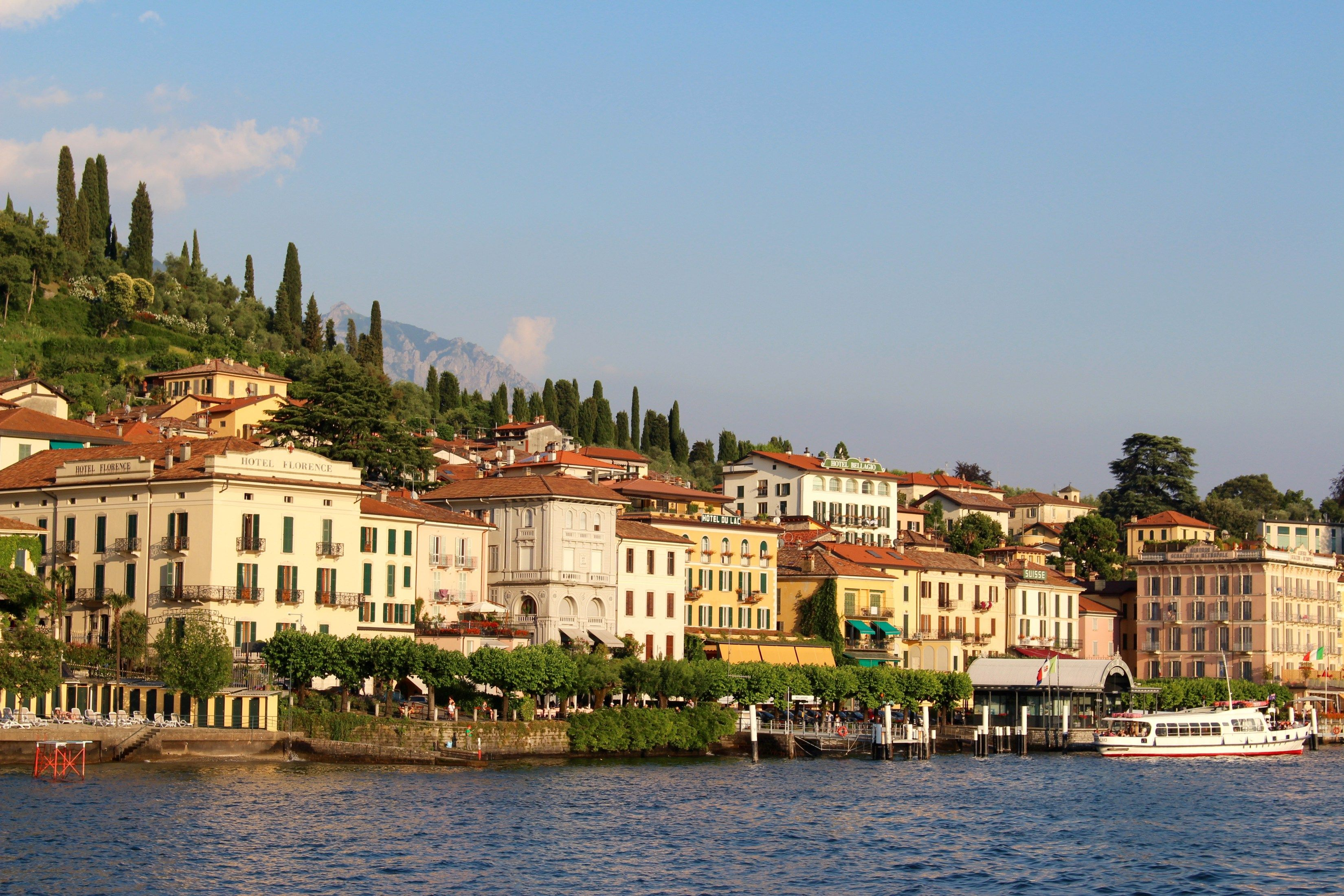 how to travel from milan to lake como