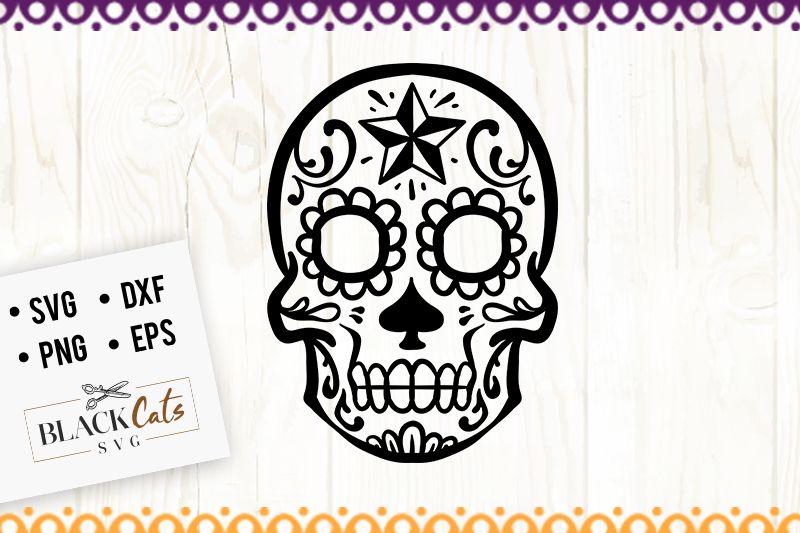 Sugar Skull 3 SVG ,