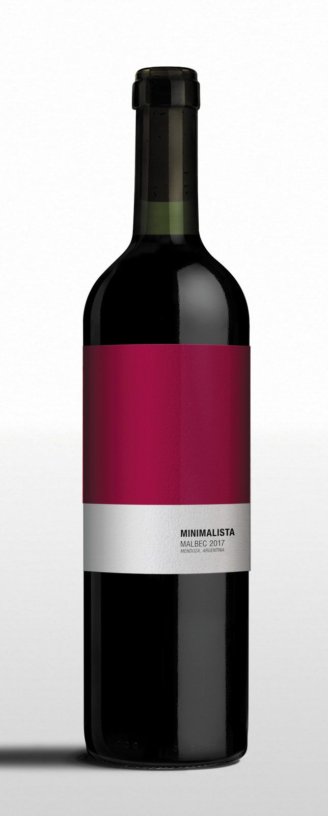 Minimalista Malbec Wine Wineconcept Brandconcept Packaging Winelabel Design Minimalist Abstract Purism Colors Wine Bottle Malbec Wine Wine Design