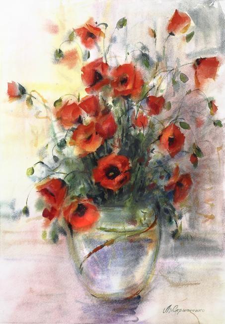 Liudmila Skripchenko ~ poppy