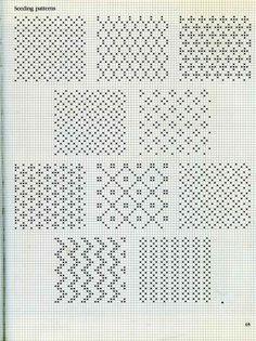 Seeding Patterns Fair Isle Fair Isle Knitting Knitting Squares
