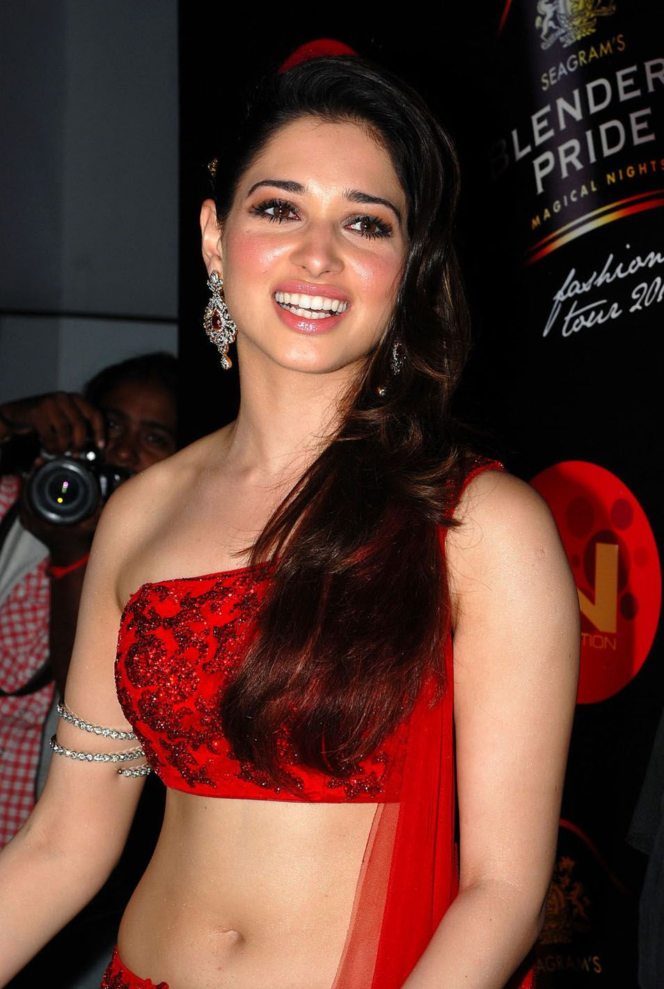 tamanna red hot in a party pictures | www.deccan-journal