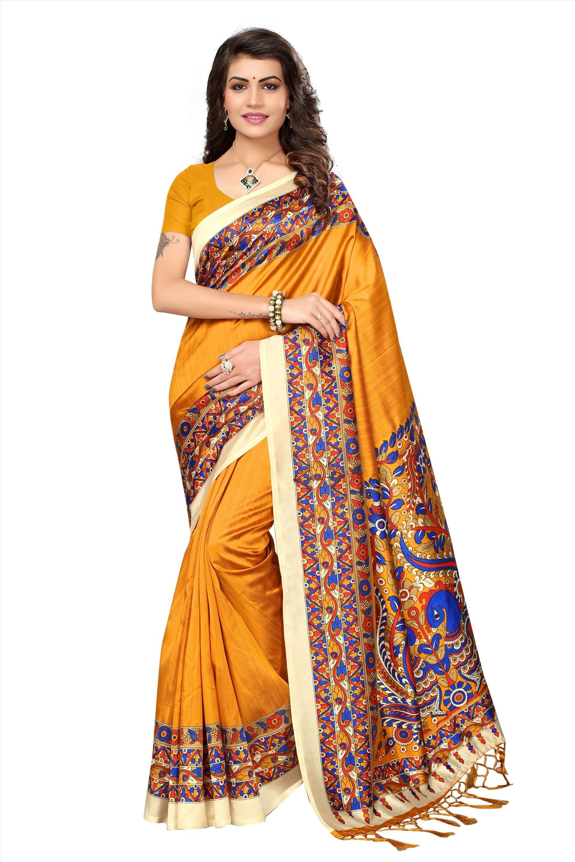 e6de426762 Image Jute Silk Saree, Mysore Silk Saree, Kalamkari Saree, Designer Sarees  Online Shopping