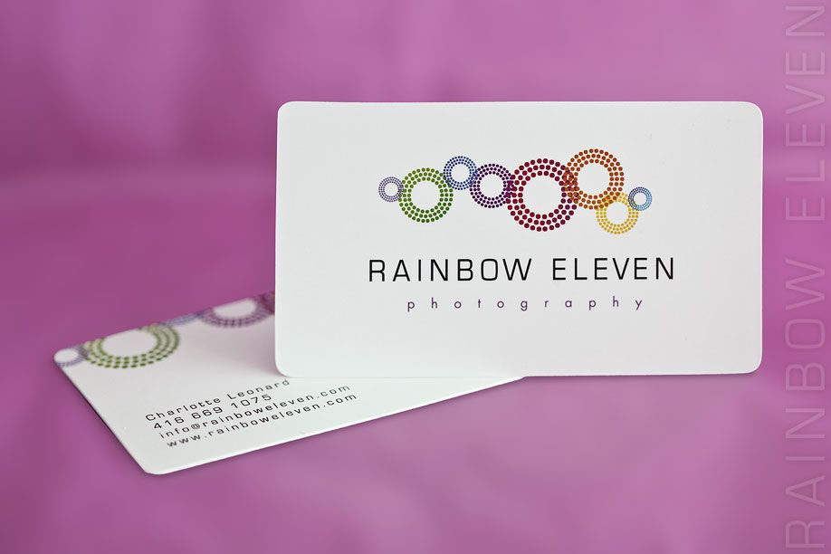 photography business cards- simple colorful fun   Business ...