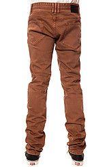 COMUNE The David Jeans in Tobacco