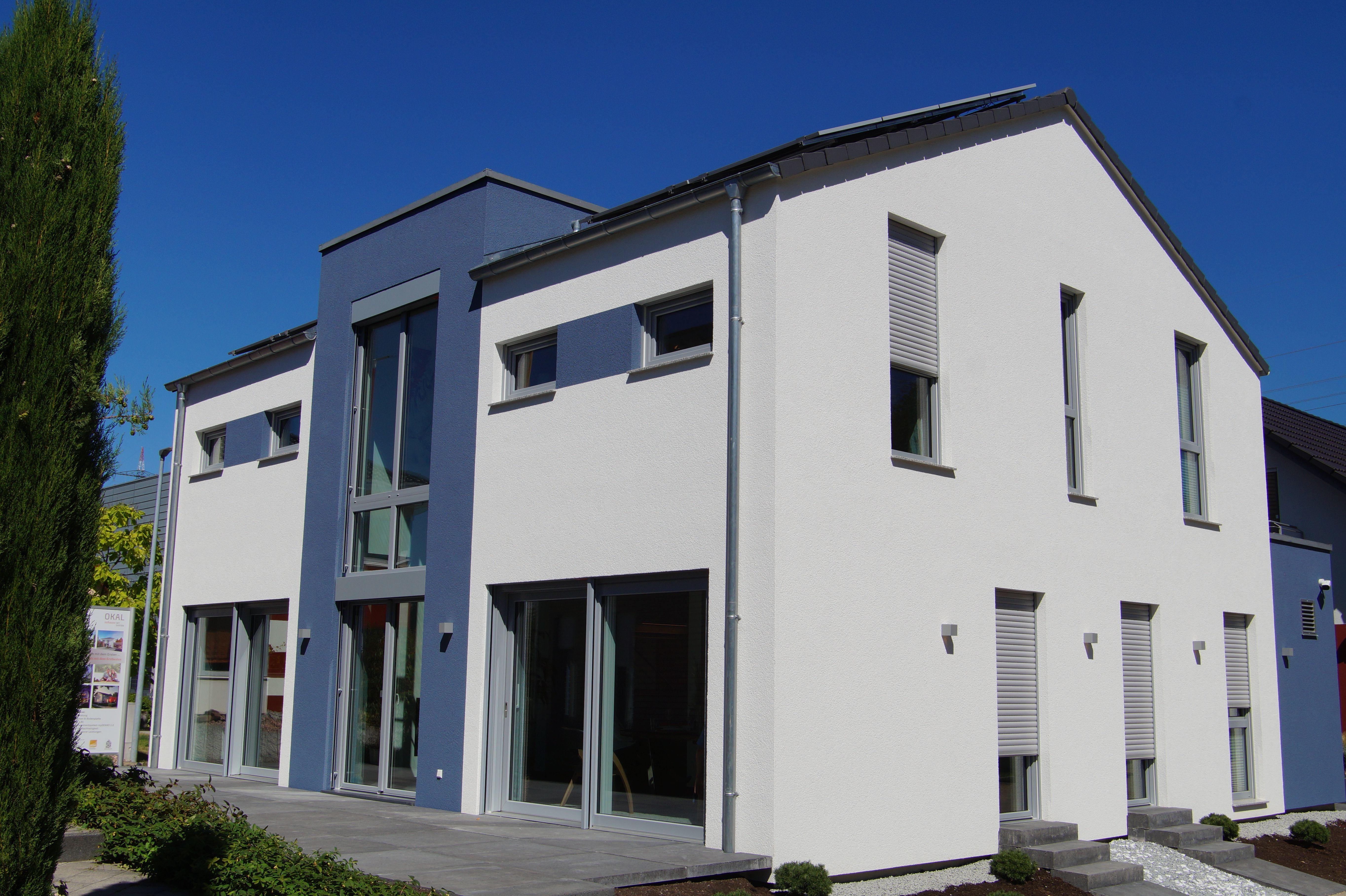 Aussenansicht des OKAL-Musterhauses in Offenburg. Täglich geöffnet ...
