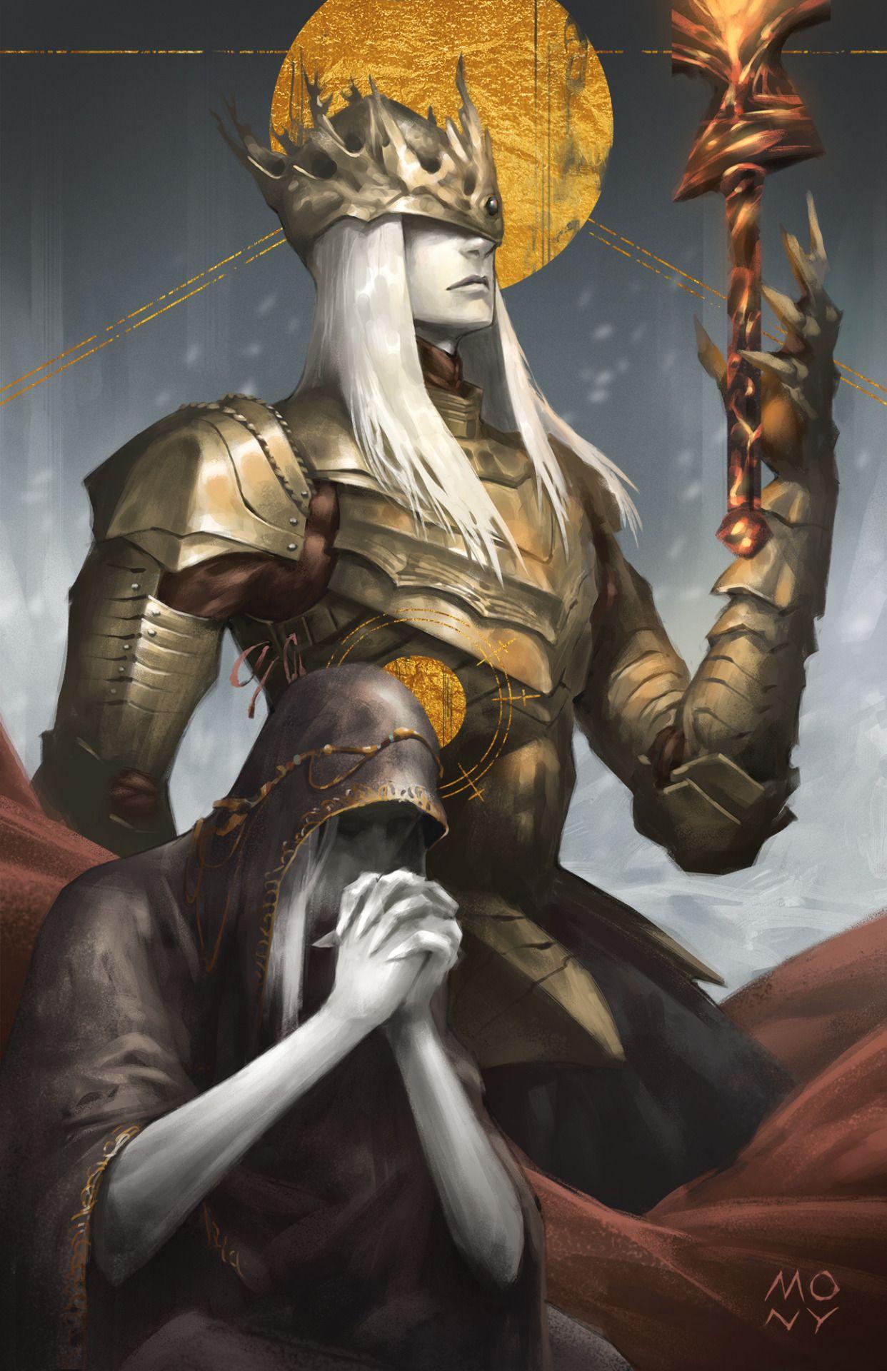 Twin Princes fanart by monypich tumblr com | Dark Souls in