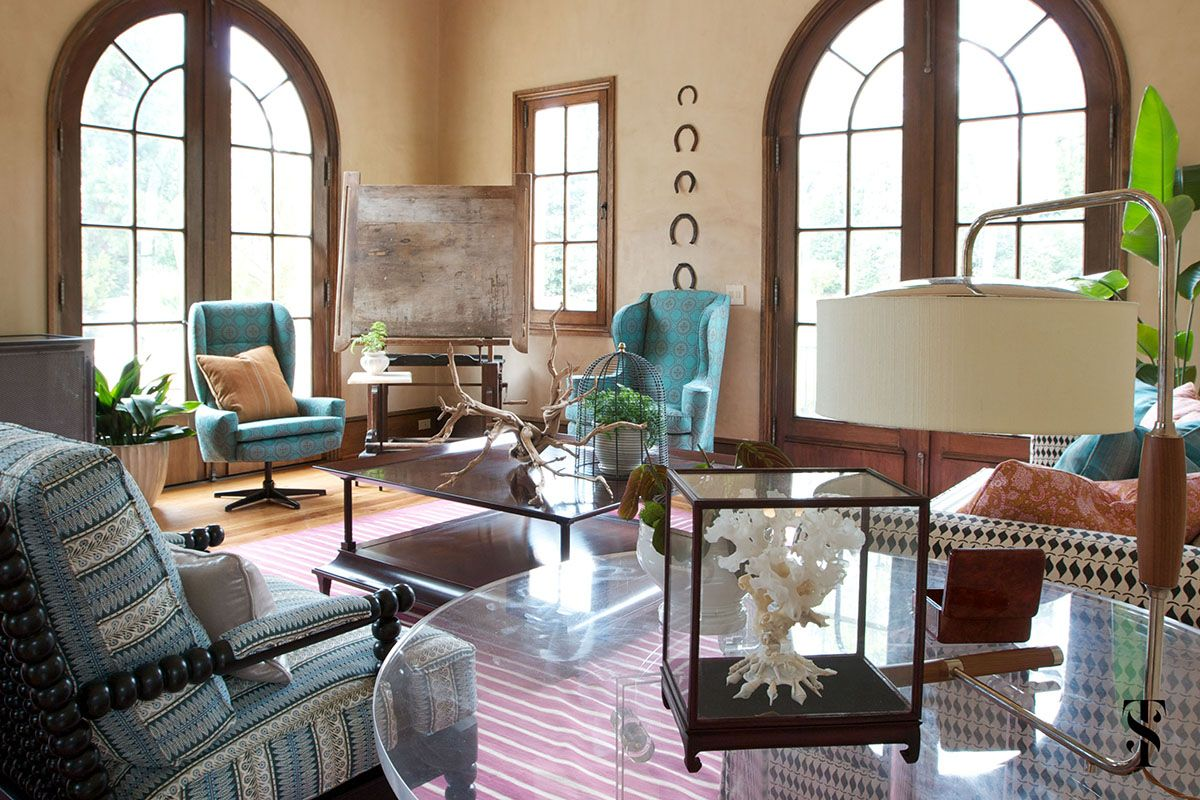 This Atlanta Interior Design Project Was To Be Decidedly Comfortable U2013 A  Place Where Friends And