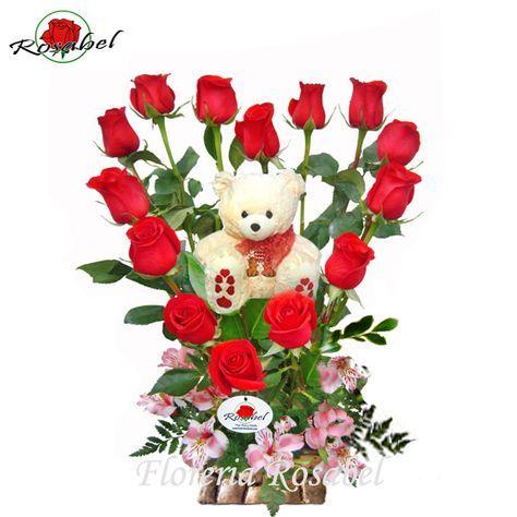 94f86a18721e2 Arreglos De Rosas Para San Valentin ...