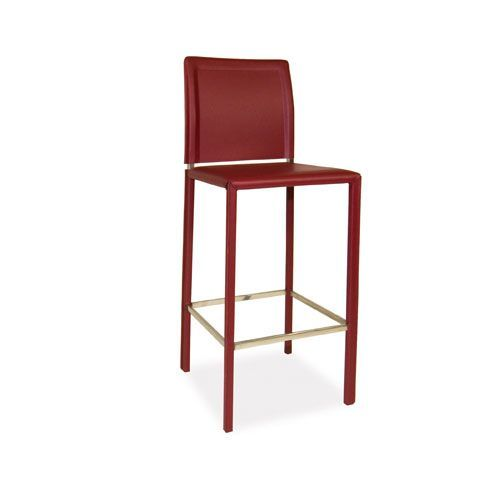 Moeu0027s Home Collection Stallo Red Barstool | 36 Inch Bar Stools, Bar Stools  Kitchen And Bar Stool