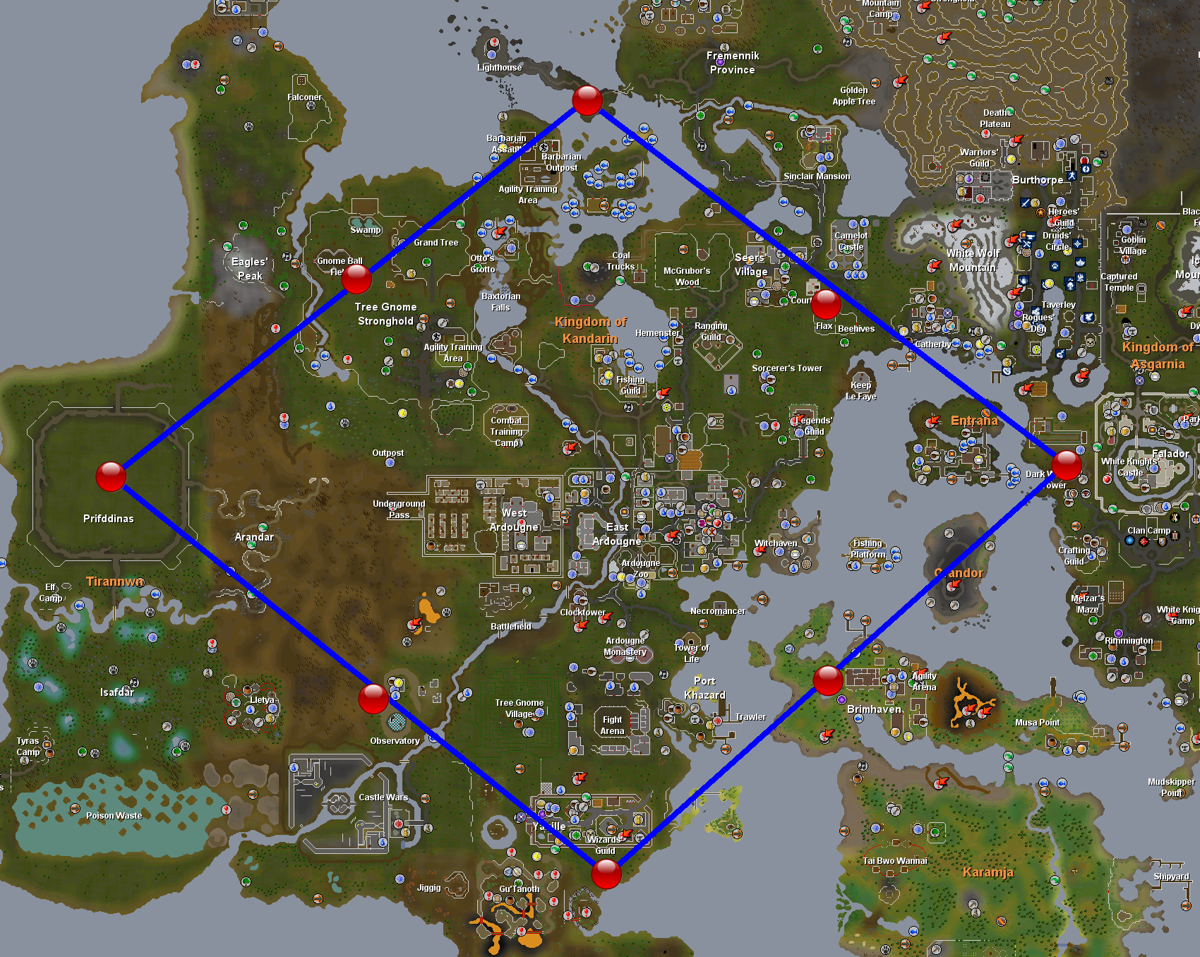 Seren   Irish   Tree map, Crystal tree, The elf
