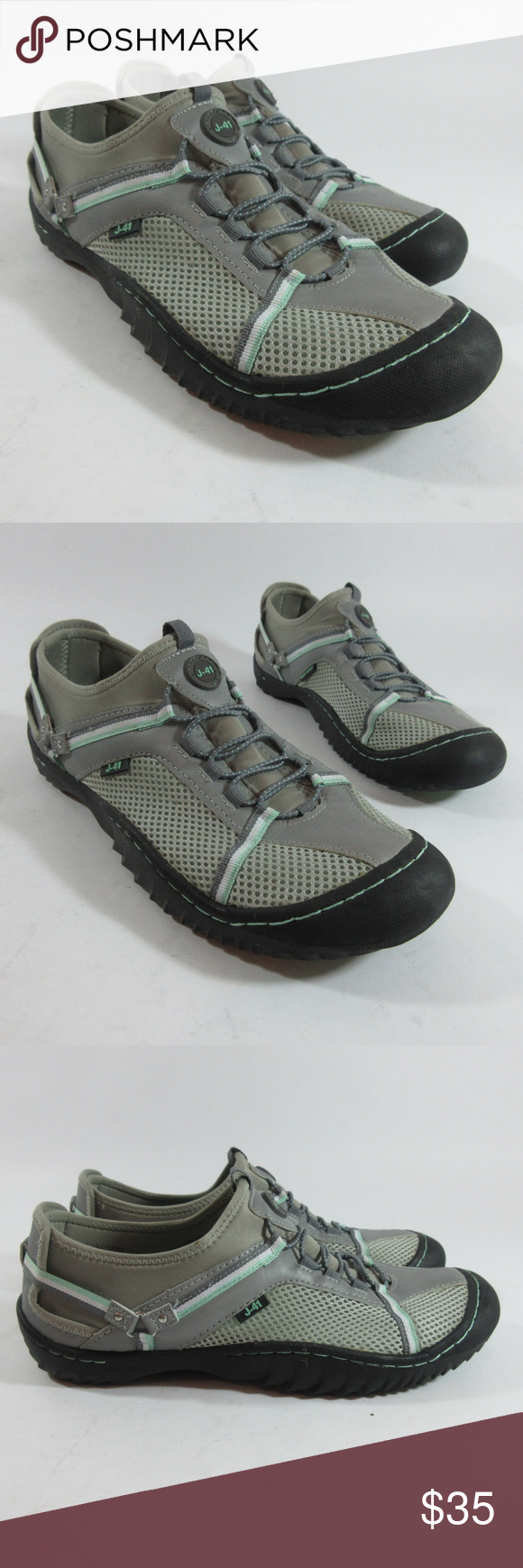 04a1bc75924cb J-41 Tahoe Trail Ready Water Vegan Walking Shoes J-41 Tahoe Trail Ready  Beach Water Vegan Slip On Walking Shoes Womens Size 10 M Great pre-owned  condition.