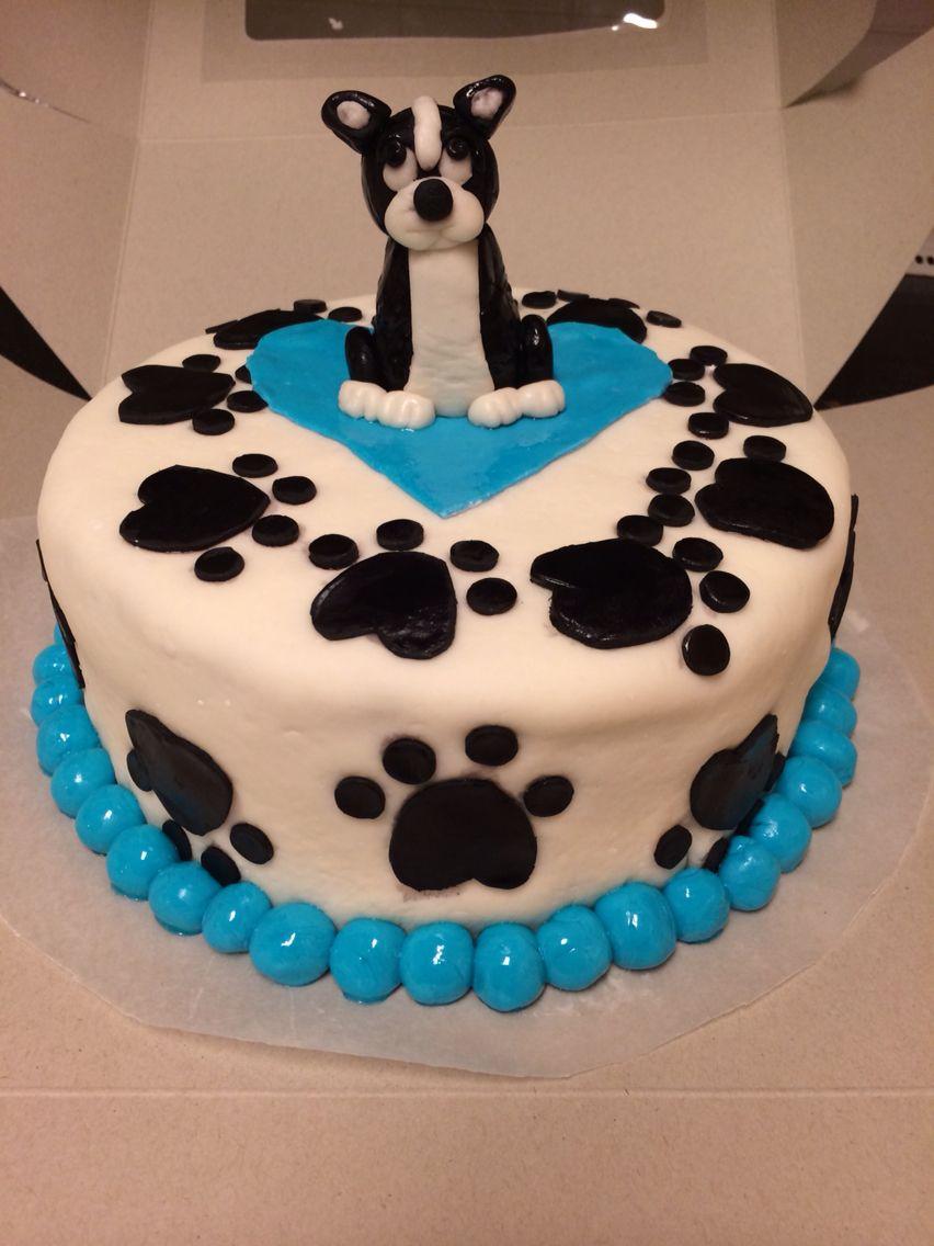 Boston Terrier Cake Cake And Cupcakes Pinterest Boston Terrier