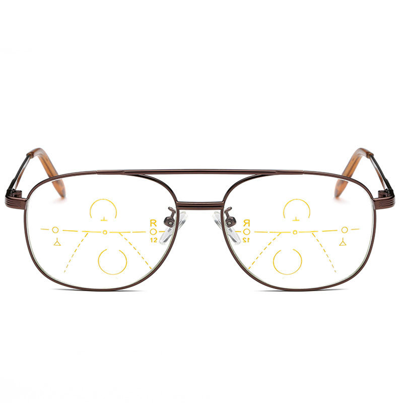 2a6813ba7b Full Frame Progressive Multifocal Presbyopia Reading Glasses
