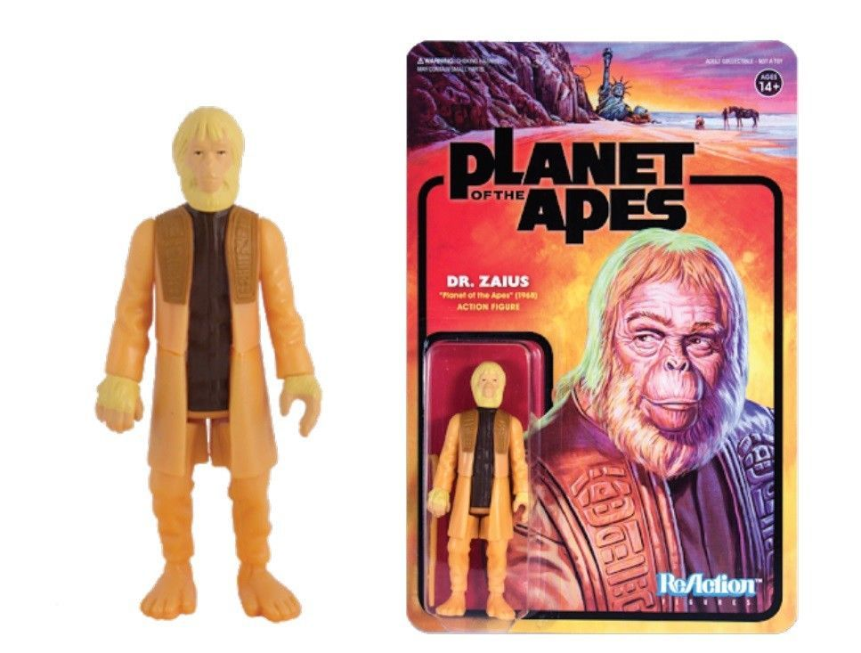 Planet Of The Apes Dr Zaius Action Figure Reaction Figures