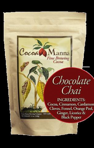 Cocoa Manna Chocolate Chai