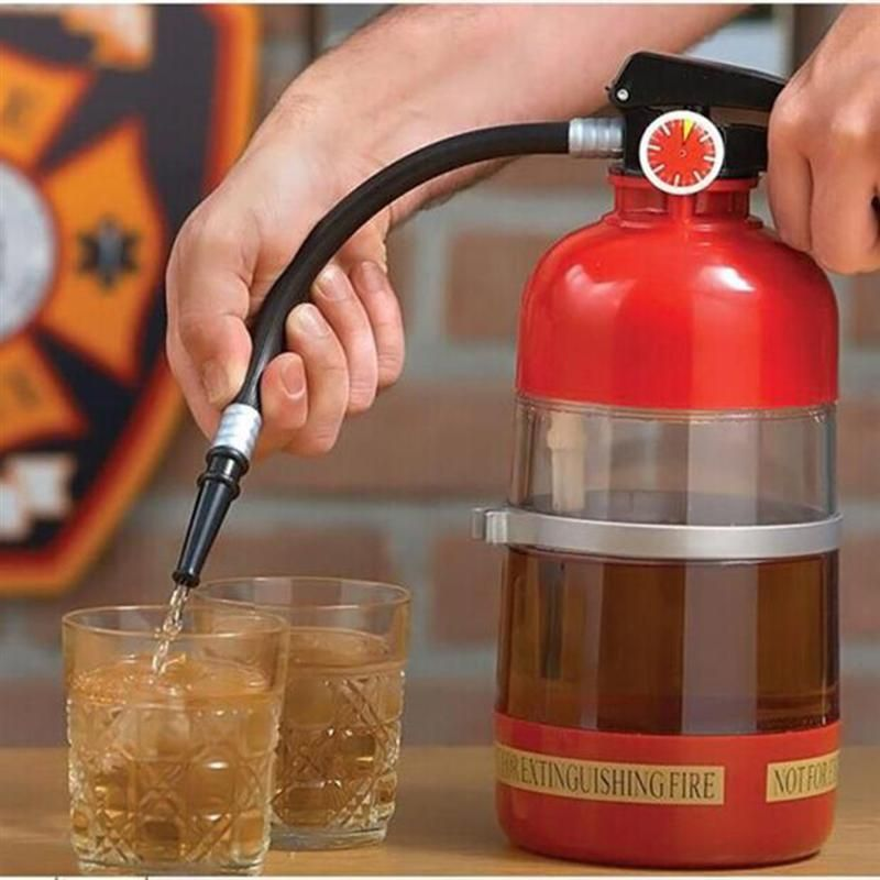 Photo of Fire Extinguisher Beverage Dispenser